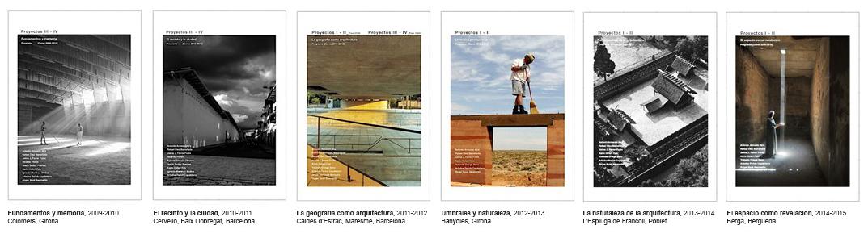 Proyectos i ii m departamento de proyectos for Asignaturas arquitectura